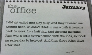 Even Jim from The Office rationalizes.